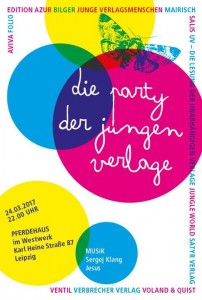 Party der jungen Verlage 2017