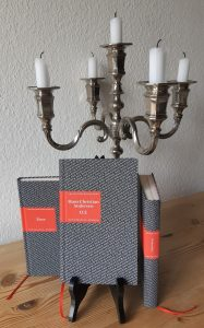 Belegexemplare Handliche Bibliothek der Romantik, Tiere, Gespenster, Hans Christian Andersen O. T., Redaktion, Lektorat