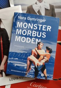 Nora Gomringer, Monster, Morbus, Moden, Cover, Foto Belegexemplar, Korrektorat