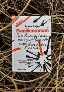Ivana Sajko, Familienroman, Belegexemplar, Cover, Korrektorat
