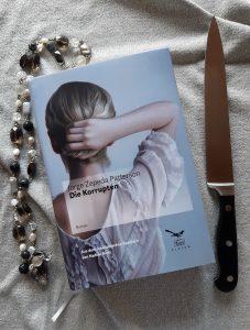 Jorge Zepeda Patterson, Die Korrupten, Die Blauen, Thriller, Belegexemplar, Übersetzungslektorat, Messer, Kette