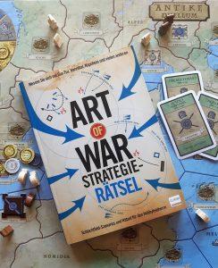 Art of War. Strategie-Rätsel, Belegexemplar, Fachlektorat, Sprachlektorat, Lektorat, Spielbrett Antike Duellum