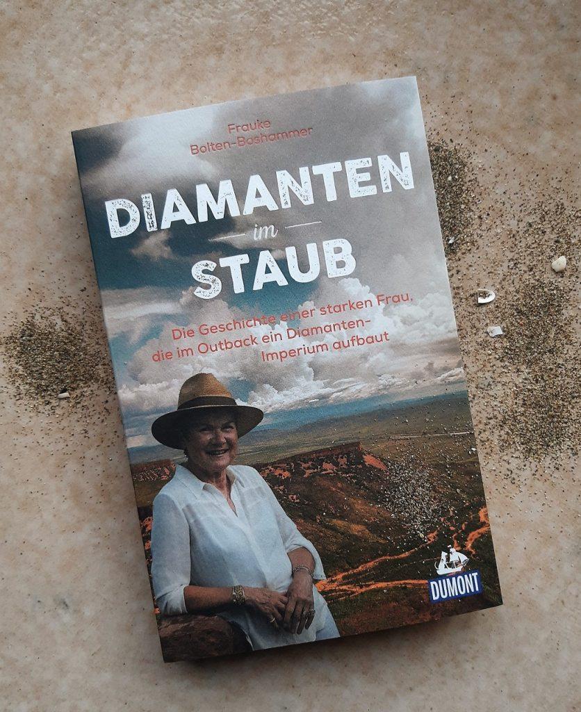 Frauke Bolten-Boshammer, Diamanten im Staub, Belegexemplar, Übersetzungslektorat, Lektorat