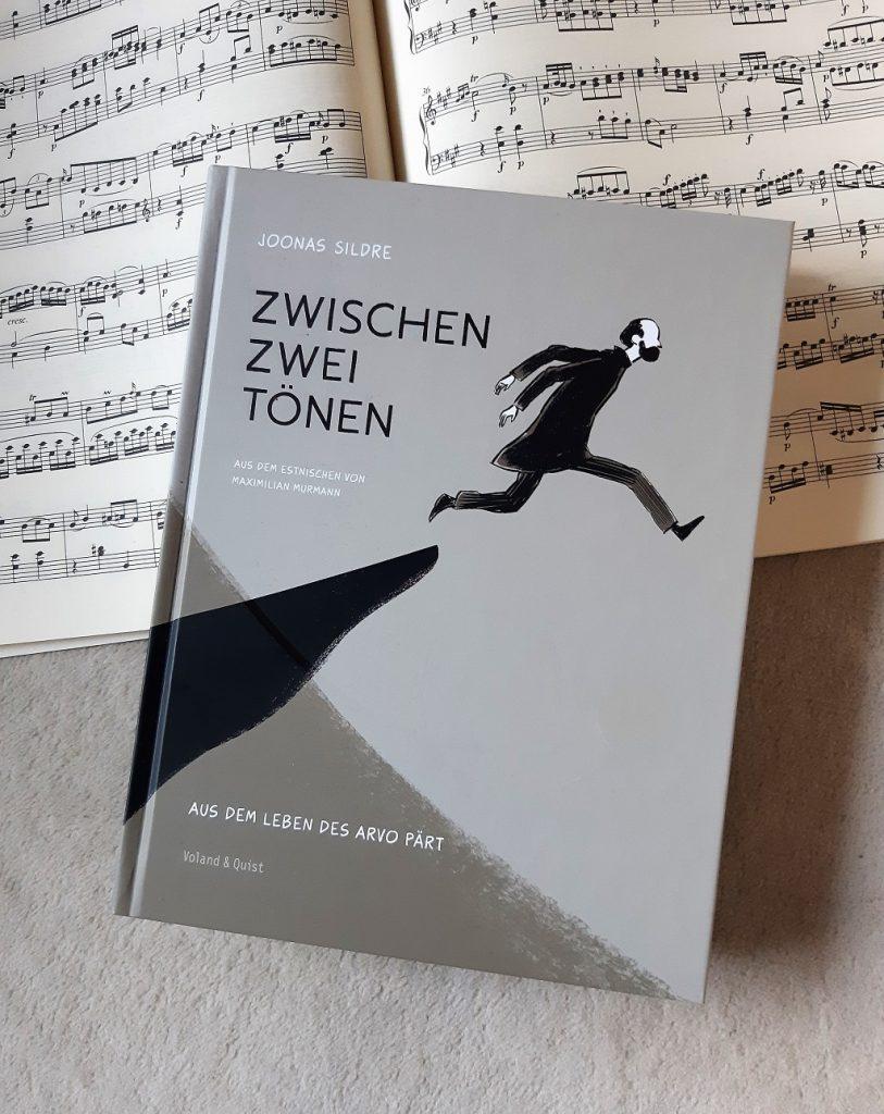 Joonas Sildre, Zwischen zwei Tönen. Aus dem Leben des Arvo Pärt, Graphic Novel, Belegexemplar, Korrektorat