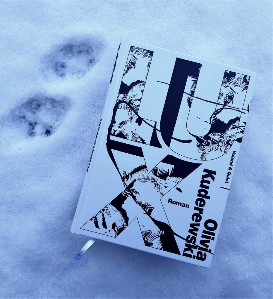 Belegexemplar Olivia Kuderewski, Lux im Schnee mit Katzenspuren, Korrektorat