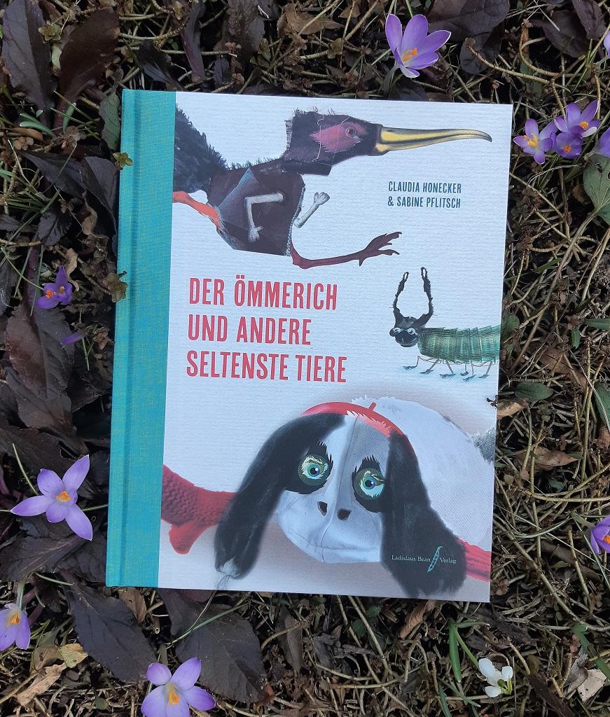 Claudia Honecker, Sabine Pflitsch, Der Ömmerich und andere seltenste Tiere, Belegexemplar Lektorat, Korrektorat