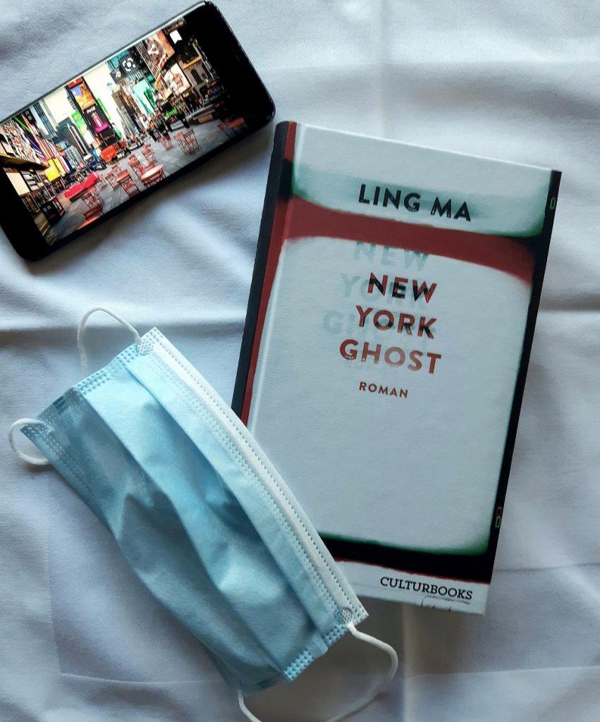 Belegexemplar Ling Ma, New York Ghost, übersetzt von Zoë Beck, Korrektorat