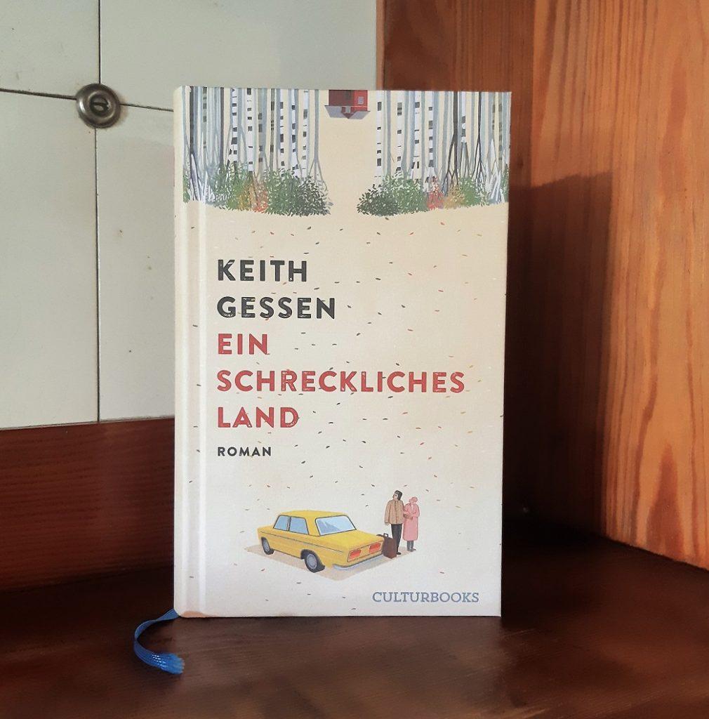 Keith Gessen, Ein schreckliches Land, Korrektorat, Belegexemplar